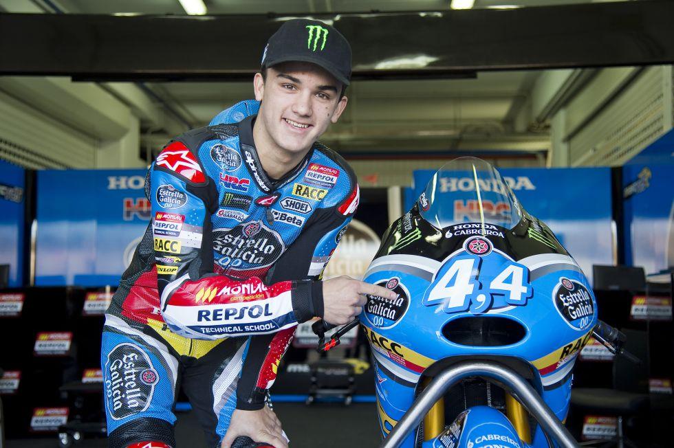 Arón Canet, el mejor tiempo de la temporada en Moto3