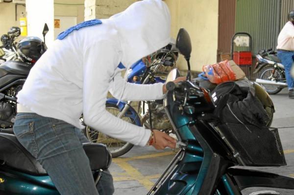 El robo de motos en España en cuestión de segundo
