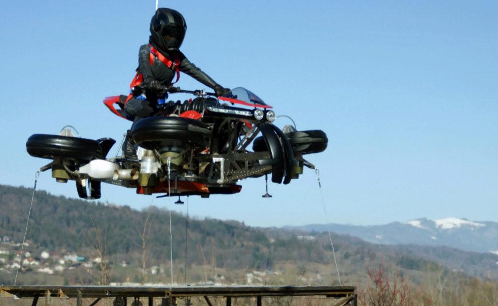 La Moto Voladora se hizo realidad
