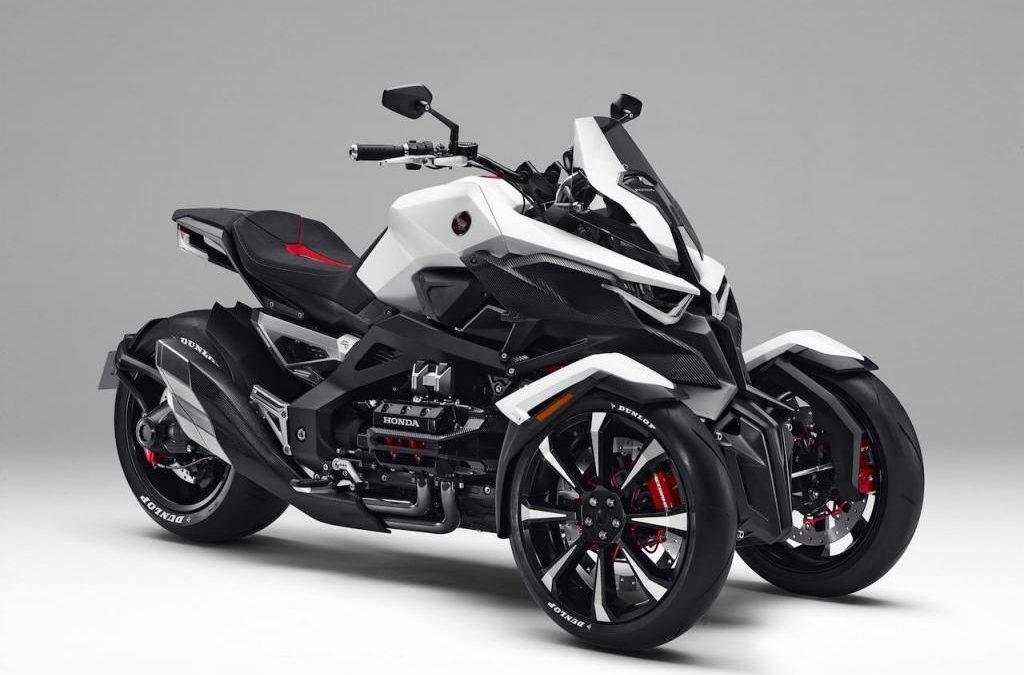 Motos de 3 ruedas modernas