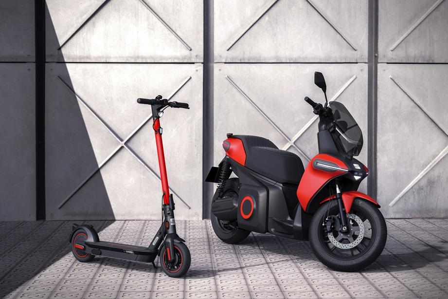 La e-Scooter concept incorpora a Seat al mundo de la movilidad urbana