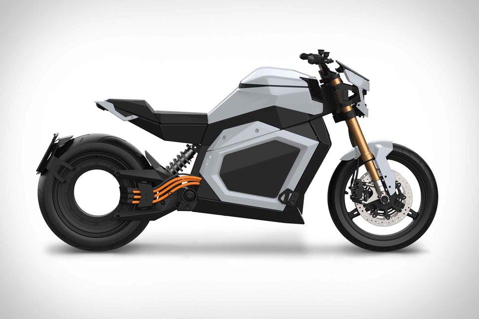 Urbet Nura nueva moto eléctrica de la marca malagueña