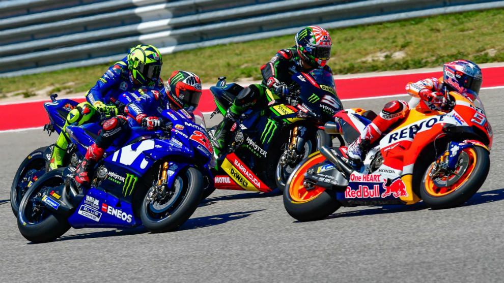 El duelo de España e Italia en Moto GP continúa