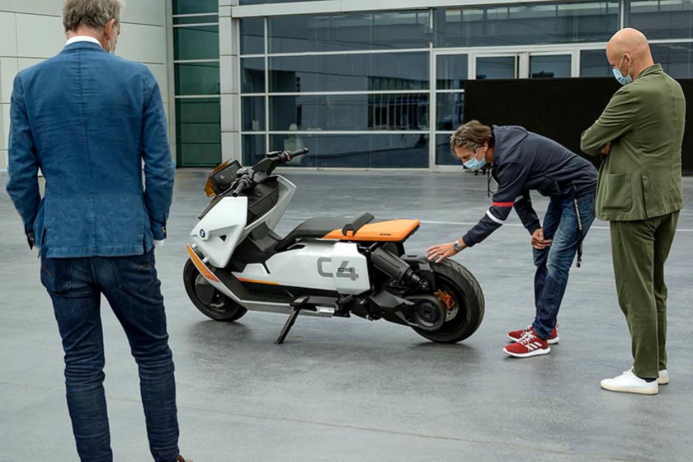El scooter urbano de BMW que marca la diferencia