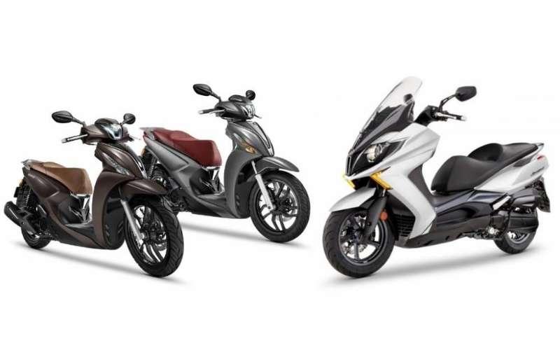 Kymco lanza 4 nuevos modelos de scooter