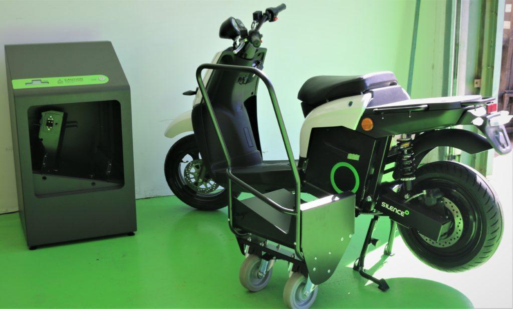 Silence fabrica baterías parar sus motos eléctricas